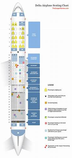 Delta Airlines Seating Chart Delta S New Airplane Seating Chart