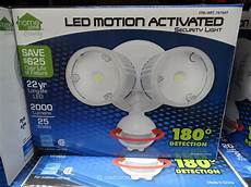 Costco Led Motion Light Led Motion Activated Security Light