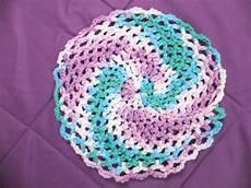 twirly dishcloth crochet pattern