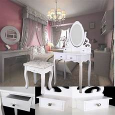 ship from germany home white dressing table oval mirror