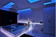 Cool Led Bedroom Lights 30 Buoyant Blue Bedrooms That Add Tranquility And Calm To