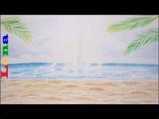 Malvorlagen Meer Und Strand Warstein Sommer Sonne Meer Malen Sand Strand Zeichnen How To