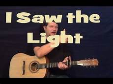 How To Play I Saw The Light On Guitar I Saw The Light Hank Williams Easy Guitar Lesson How To