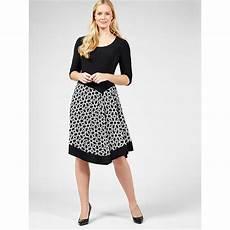 Coco Bianco Size Chart Coco Bianco 3 4 Sleeve Asymmetric Hem Print Amp Plain Dress