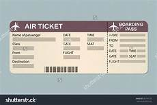 Sample Boarding Pass Template Plane Ticket Template Shatterlion Info