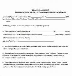 Commission Agreement 12 Commission Agreement Templates Word Pdf Apple