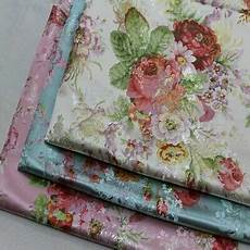 fabric crafts silk peony brocade fabric satin faux silk flower dress clothes