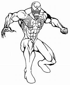 Easy Venom Coloring Pages Printable Venom Coloring Pages Coloring Home