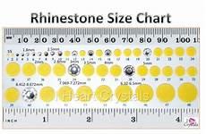 Rhinestone Size Chart Mm I Heart Crystals Ebay Stores