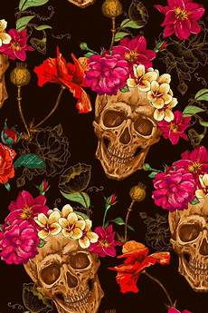 floral skull iphone wallpaper 193 best caveira mexicana images on skull