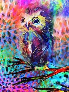 Colorful Owl Art 4291 Best Owl Paper Images On Pinterest Drawings Owls
