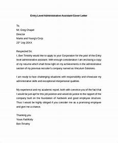 Executive Administrative Assistant Cover Letter Sample Free 29 Sample Cover Letter Example Templates In Pdf Ms
