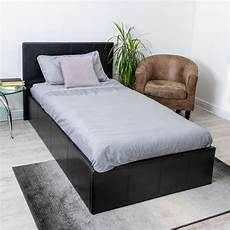 home treats black ottoman bed frame with lift up storage
