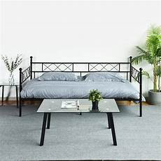 aingoo 3ft single day bed metal bed frame single guest bed