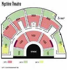 Treasure Island Theater Seating Chart Tickets To Mystere Cirque Du Soleil Las Vegas