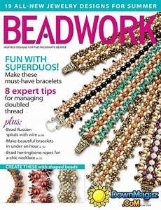 beadwork magazine beadwork august september 2014 187 pdf magazines