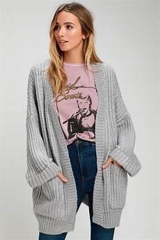grey cardigan oversized cardigan knit cardigan