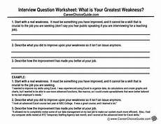 Sample Weaknesses For Interview Interview Weaknesses How To Answer What Is Your Greatest