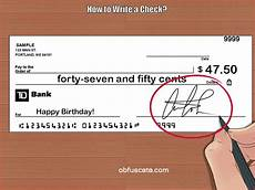How To Write A Check What Is Check