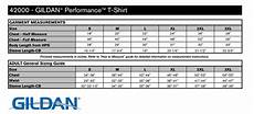 Gildan 5400 Size Chart Phs Gildan Men S Performance Locker Tee Carbon