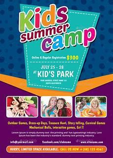 Programs To Make Flyers 26 Summer Camp Flyer Templates Word Psd Ai Eps Vector