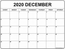 Calendar January December 2020 December 2020 Calendar 56 Templates Of 2020 Printable