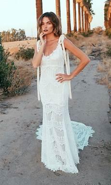 o keeffe backless lace bohemian wedding dresses open
