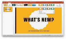 Office Com Powerpoint Themes What S New In Powerpoint 2016 For Mac Microsoft 365 Blog