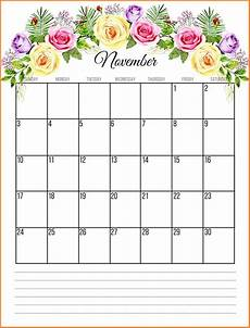 November Calendar Decorations November 2019 Calendar Uk Blank Template Download