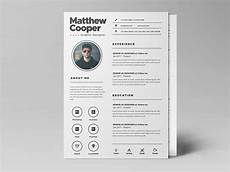 Clean Resume Template Free Free Clean Resume Template Psd