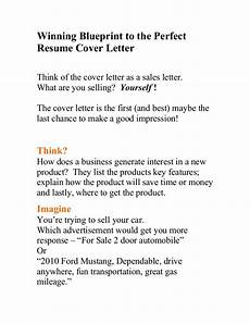 Winning Cover Letters Winning Blueprint To The Perfect Resume Cover Letter