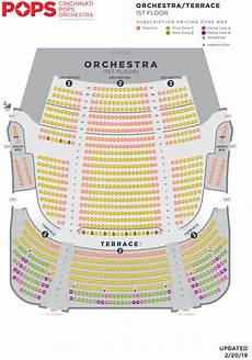 Pops Seating Chart Seating Charts Cso