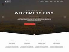 Video Landing Page Template Bino Free Html5 Landing Page Template Designstub