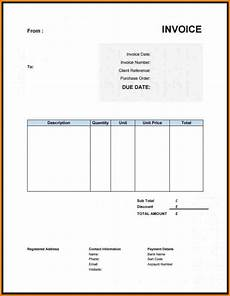 Writing Invoice Template Best Free Invoice Template Uk Invoice Template