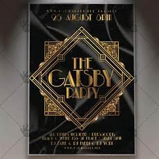 Great Flyers Download Gatsby Party Flyer Psd Template Psdmarket