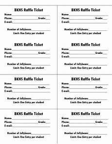 Fundraising Tickets Templates For Free 50 Free Raffle Amp Movie Ticket Templates Templatehub