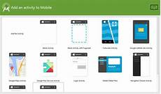 Android Main Activity Design Android Studio Add An Activity To Mobile Material Design