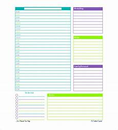 Daily Organiser Template 31 Daily Planner Templates Pdf Doc Free Amp Premium
