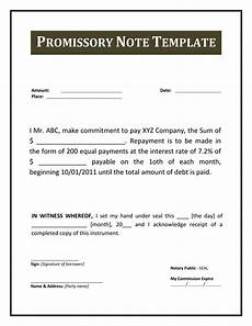 Secured Promissory Note Template Word Blank Promissory Note