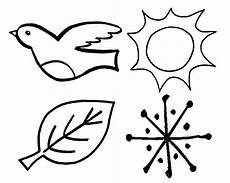 4 seasons coloring pages wecoloringpage