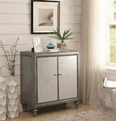 101049 mirrored accent cabinet by coaster