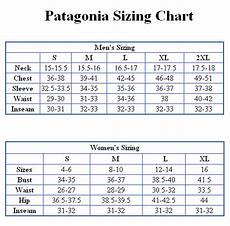 Patagonia Kids Size Chart Patagonia Size Chart Jpg