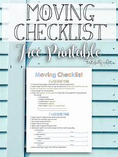 Printable Moving Packing Checklist Moving Checklist Free Printable Tastefully Eclectic