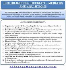 Acquisition Due Diligence Checklist Excel Due Diligence Checklist Merger And Acquisition