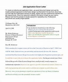 Ucsd Cover Letter Free 8 Cover Letter Samples In Ms Word Pdf