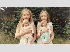 Icelandic Twin Girls Erna & Hrefna In Mysterious Photos By