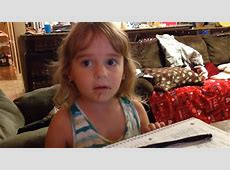 4 Year Old Adorably Denies Stealing Doughnut Despite Proof