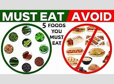 EAT THESE 5 FOODS IF YOU HAVE DIABETES   5 FOODS FOR
