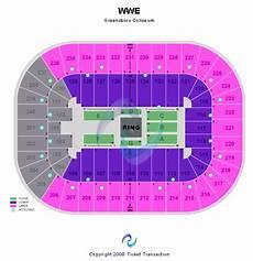 Richmond Coliseum Wwe Seating Chart Wwe Raw Tickets Greensboro Greensboro Coliseum 5 16