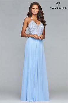 Designer Prom Dresses On Clearance Faviana S10041 Prom Dress Prom Gown S10041 V2521 01